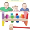 ของเล่นไม้ ชุดค้อนตอกแท่งไม้หลากสี Imaginarium