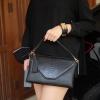 กระเป๋าสะพาย ปรับเป็นคลัชได้ สีดำ รุ่น KEEP Doratry shoulder &clutch bag