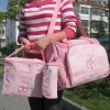 กระเป๋าคุณแม่ ใส่ของเด็กอ่อน Set สุดคุ้ม สีชมพู ลายแมลงเต่าทอง