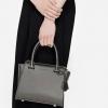 CHARLES & KEITH SMALL CITY BAG กระเป๋าถือหรือสะพาย ดีไซน์เรียบหรู ขนาดกำลังดี สีบรอนซ์