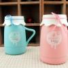 แก้วถังนมเซรามิคสี ห้อยจี้เชือก <พร้อมส่ง>