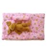 ที่นอนเด็กอ่อน 3ชิ้น หนานุ่ม ซักได้ 85x55x6 cm. -Pink