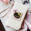 Authentic Hello Kitty Mirror Smart Wallet Case Galaxy Note Edge Case 4 Colors