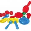 เซตของเล่นแป้งโดว์ ชุดทำขนมวาฟเฟิล สำหรับแป้งโดว์-ดินน้ำมัน
