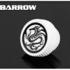 Barrow Stop Fitting ขาว ลายมังกร