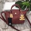 KEEP ทรง longchamp รุ่น Duo Sister - D.brown color Mini น้ำตาลเข้ม ราคา 1,390 บาท Free Ems