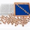 กระดาน 100 ช่อง ของเล่นไม้เสริมพัฒนาการคณิตศาสตร์