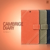 Zenus : Cambridge Diary Canvas Cover Case Smart On/ Off for LG Nexus 5