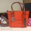 กระเป๋า GUESS SAFFIANO MINI CROSS BODY BAG 2016 สีส้ม ราคา 1,290 บาท Free Ems
