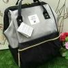 กระเป๋าเป้ Anello Polyester Canvas Rucksack Classic วัสดุผ้าแคนวาส รุ่นคลาสสิคพิเศษมีซิปด้านหลัง