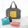 กระเป๋าช้อปปิ้งพับเก็บได้ ผ้าหนา สีสันสดใส ผลิตจากโพลีเอสเตอร์กันน้ำ คุ้มค่า (Street Shopper Bag)