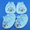 ถุงมือถุงเท้า (ผ้า TK หนานุ่ม) แพ็ค 6 เซ็ต