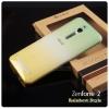 เคส Zenfone 2 (ZE551ML / ZE550ML ) เคสนิ่ม Super Slim TPU บางพิเศษ Style เรนโบว์ สีเขียว / เหลือง