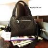 กระเป๋า KIPLING OUTLET NYLON CITY BAG สีดำ สะพายไปเรียน ไปทำงานก็ดูดี