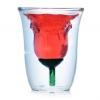 แก้วน้ำรูปดอกกุหลาบ <พร้อมส่ง>