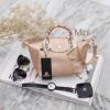 กระเป๋า KEEP Longchamp Style Duo Sister Rose gold ราคา ใบเล็ก 1,390 บาท Free Ems