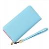 กระเป๋าสตางค์ใบยาว KQeenstar L สีฟ้า