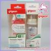 🍼ขวดนมพีเจ้นส์ PP BPA-FREE Pigeon ขนาด 120 ml/4OZ พร้อมจุกนมเสมือนนมมารดา รุ่นมินิ size S 🚼สำหรับเด็ก 0-3 เดือน