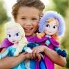 ตุ๊กตา เจ้าหญิงตุ๊กตา เจ้าหญิงเอลซ่าและอันนา Frozen ขนาด 50 cm