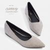 รองเท้าส้นแบนไซส์ใหญ่ 42-47 Eleganca Glittery รุ่น KR0525