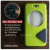 เคส Zenfone Selfie (ZD551KL) เคสฝาพับ 2 เฉดสี FULL FUNCTION มีช่องใส่บัตรและแถบแม่เหล็ก สีเขียว/ดำ