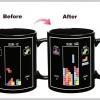 แก้วกาแฟ Tertris เปลี่ยนรูปตามอุณหภูมิ