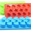 แม่พิมพ์ซิลิโคน รูปหัวใจและดาว Nana Baby Silicone Mold สำหรับฟรีซเก็บอาหารเด็กในตู้เย็น