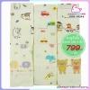 ผ้าเช็ดตัวสาลูญี่ปุ่น รังผึ้ง 8 ชั้น cotton 100% Size 24x48 นิ้ว แพ็ค 6 ผืน [คละ 3 ลาย]