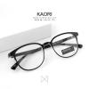 KAORI - clear black แว่นตาทรงเหลี่ยม TR90 กว้าง 135 มม. (size M)