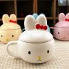 แก้วเซรามิคลายกระต่าย < พร้อมส่ง >