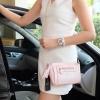 กระเป๋า KEEP saffiano leather 3in1 with chain strap Glitter pink