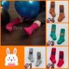 SK095••ถุงเท้าเด็ก•• หมี มี 4 สี (ข้อยาว)