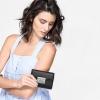 CHARLES & KEITH PUSH-LOCK WALLET NEW ARRIVAL 2017 กระเป๋าเงินใบกลาง สีดำ