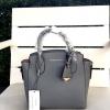กระเป๋า Charle & Keith Guesseted Mini Tote Bag 2016 สีเทา ราคา 1,390 บาท Free Ems