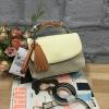 กระเป๋า ZARA Multicolor City Bag With Pendant Detail ราคา 1,090 บาท Free ems