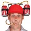 หมวกดื่มเครื่องดื่มสำหรับคนขี้เกียจ