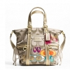 กระเป๋า COACH Daisy pop C applique pocket tote bag F21101