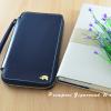 กระเป๋าสตางค์ใส่โทรศัพท์ ใบยาว ซิปรอบ Primprai ziparound wallet สีดำ