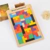 ของเล่นตัวต่อไม้ปริศนา 40 ชิ้น Pentomino Russian Block