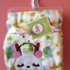 BK080••ผ้าห่มเด็ก•• / ลายกระต่าย (นาโน)