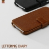 ZENUS : Lettering Diary Synthetic Leather Cover Case for Samsung Galaxy S5, SV, G900