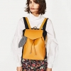 กระเป๋าเป้ Zara Backpack With Scarf สีเหลือง ราคา 1,290 บาท Free Ems