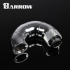 """Barrow 4 Rotary Snake-Style Dual Dual G1/4"""" Adapter สีเงิน"""