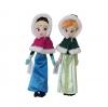 ตุ๊กตาเจ้าหญิงเอลซ่าและอันนา Frozen รุ่นเสื้อคลุมกันหนาว ขายยกคู่