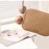 กระเป๋าสะพายข้าง MANGO TOUCH รุ่น tassel quited pattern bag สีเบจ ส่งฟรี