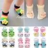 ถุงเท้าเด็กอ่อนสามมิติ มีกันลื่น สำหรับเด็กวัย 6-18 เดือน