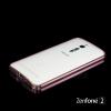 เคส Asus Zenfone 2 (ZE551ML / ZE550ML) Bumper ขอบกันกระแทก บั๊มเปอร์ (สีชมพู / ขลิบทอง)