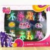 โมเดลม้าโพนี่ My Little Pony Set 8 ตัว