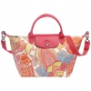 "Longchamp Limited ""Fleurs De Ravello"" Summer 2014 Collection Size S สี Pink (Rose)"