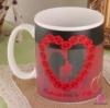 แก้วเปลี่ยนลายตามอุณหภูมิ หัวใจดอกกุหลาบ